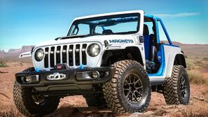 Moab Easter Jeep Safari 2021: Jeep Wrangler Magneto