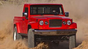Moab Easter Jeep Safari Concepts 2012: Jeep Grand Cherokee Trailhawk, Jeep Wrangler Apache, Jeep Mighty FC, Jeep J-12, Jeep Wrangler Traildozer