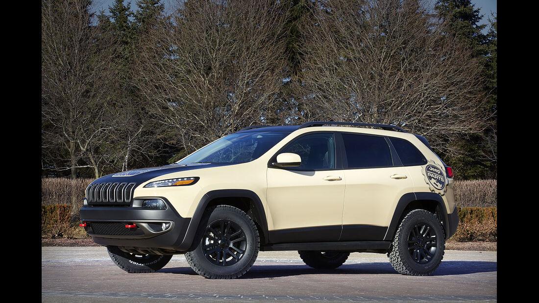 Moab Easter Jeep-Safari Concepts 2015 – Jeep Cherokee Canyon Trail