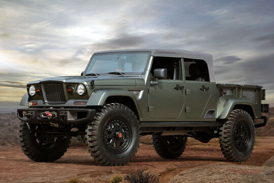 Moab Easter Jeep Safari Concepts 2016: Jeep Crew Chief 715