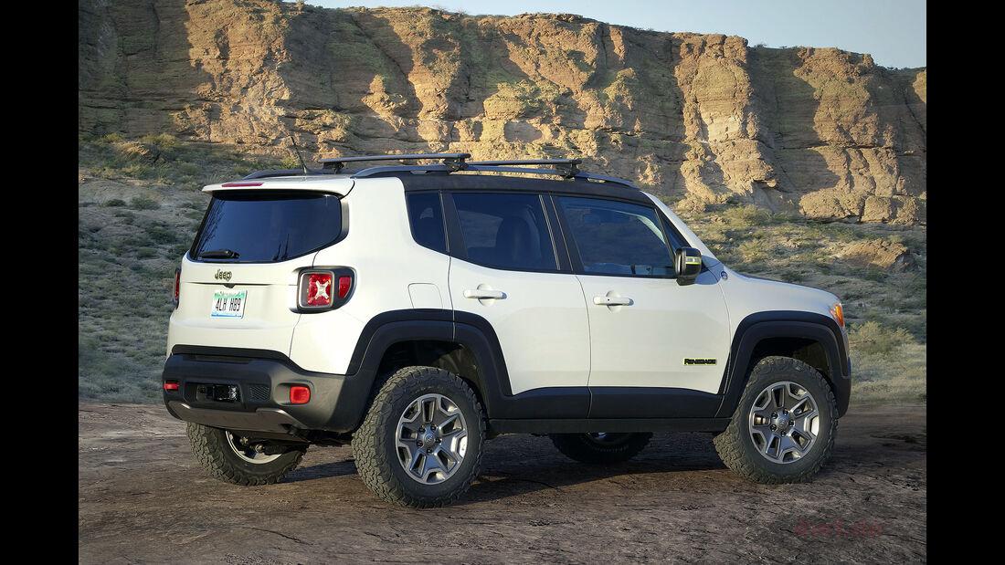 Moab Easter Jeep Safari Concepts 2016: Jeep Renegade Commander