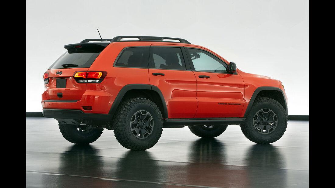 Moab Easter Jeep Safari:Jeep Grand Cherokee Trailhawk Concept
