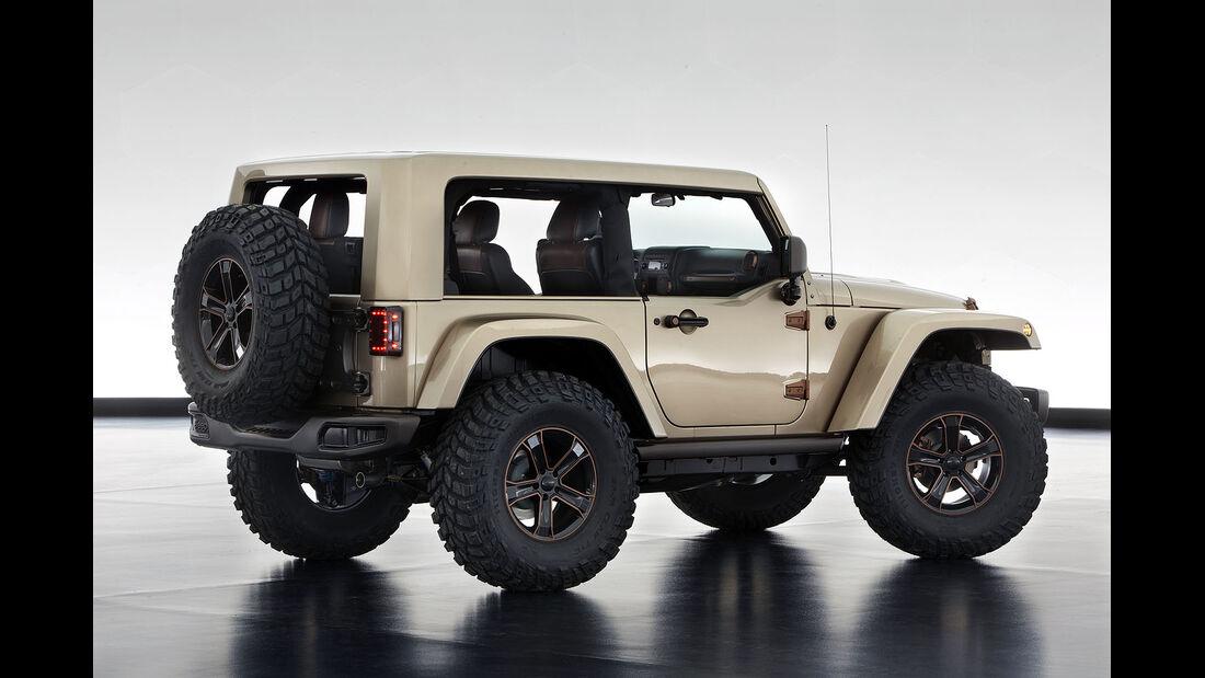 Moab Easter Jeep-Safari: Jeep Wrangler Flattop