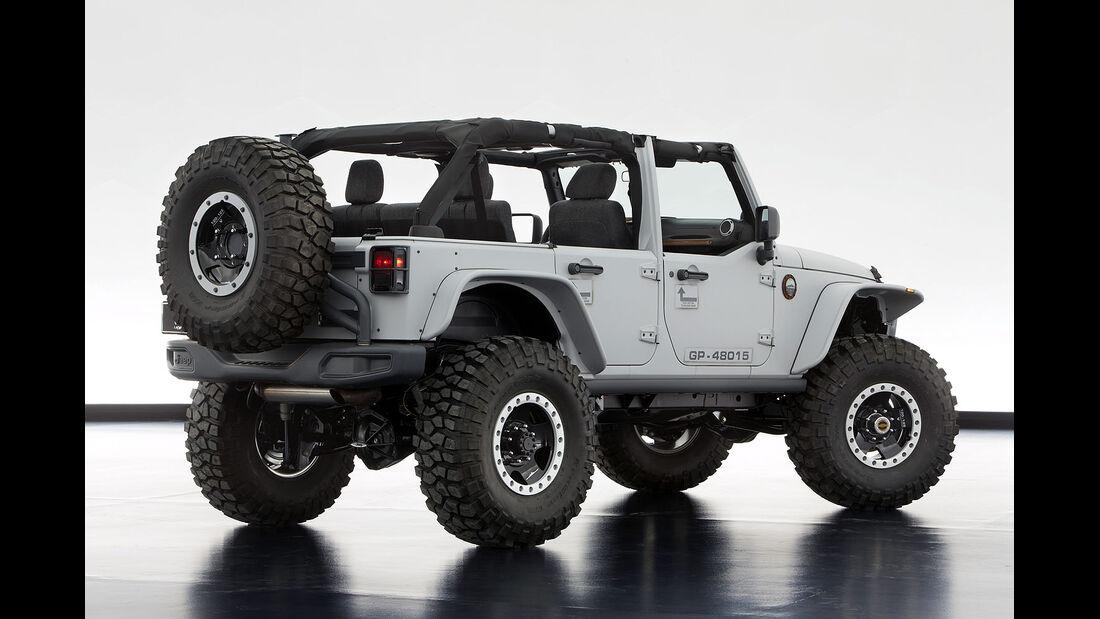 Moab Easter Jeep Safari: Jeep Wrangler Mopar Recon