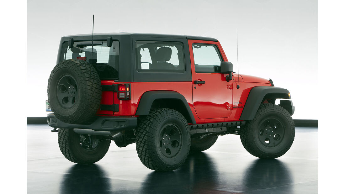 Moab Easter Jeep Safari: Jeep Wrangler Slim