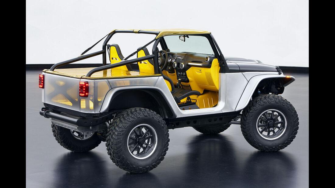Moab Easter Jeep Safari: Jeep Wrangler Stitch