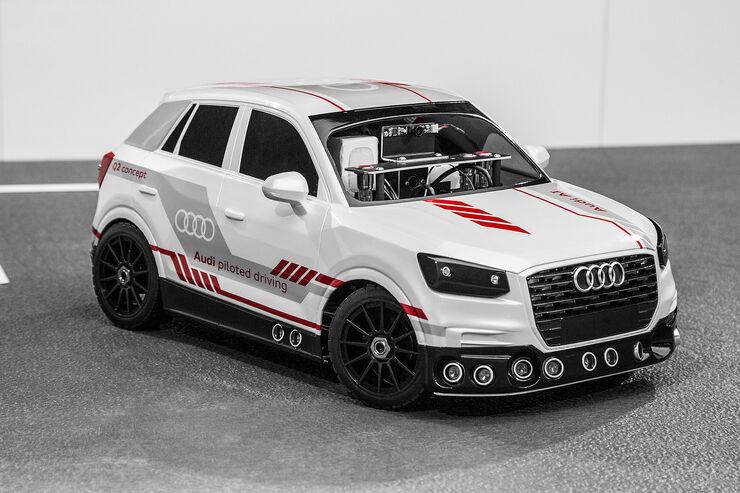 Modellauto Audi Q2 deep learning concept