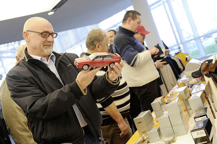 Modellautobörse Audi Forum Ingolstadt