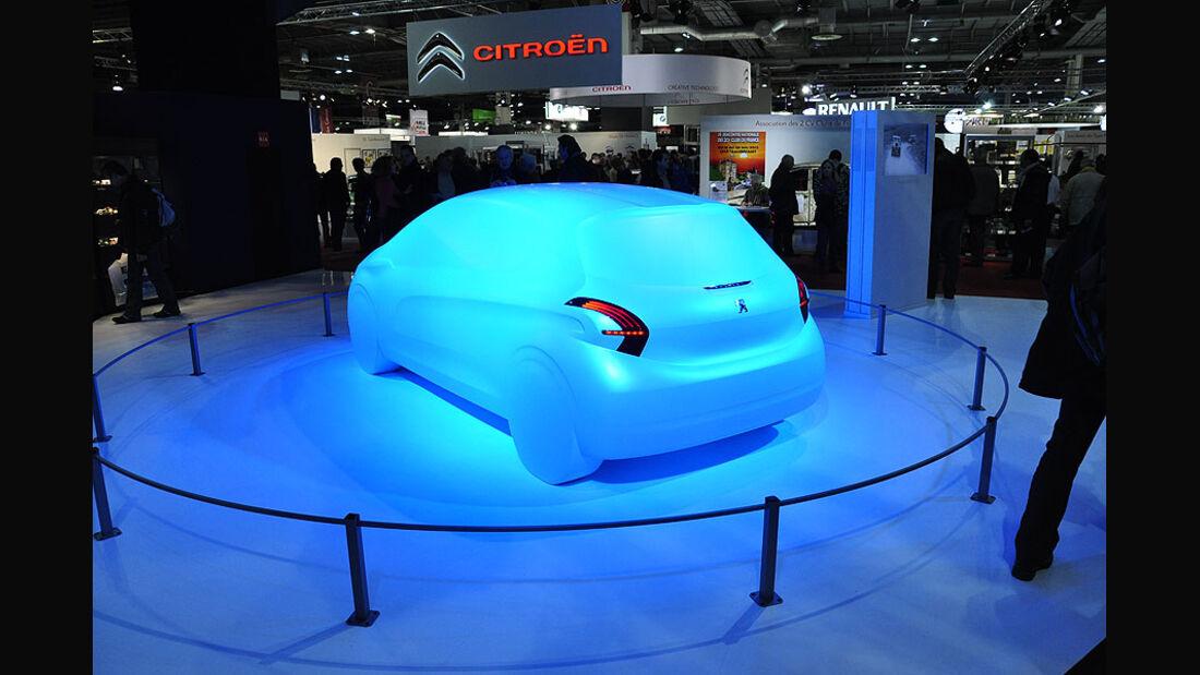 Moderne Interpretation eines Peugeot