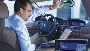 Moderne Pkw sind vernetzt und sammeln permanent Daten.