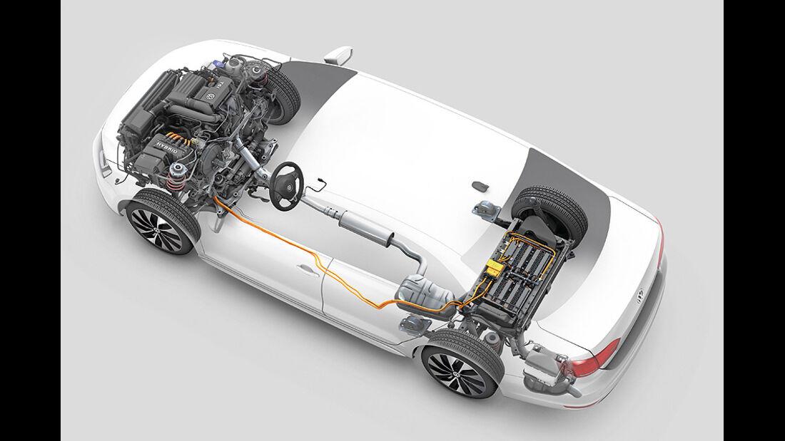 Modularer Querbaukasten, VW Jetta Hybrid