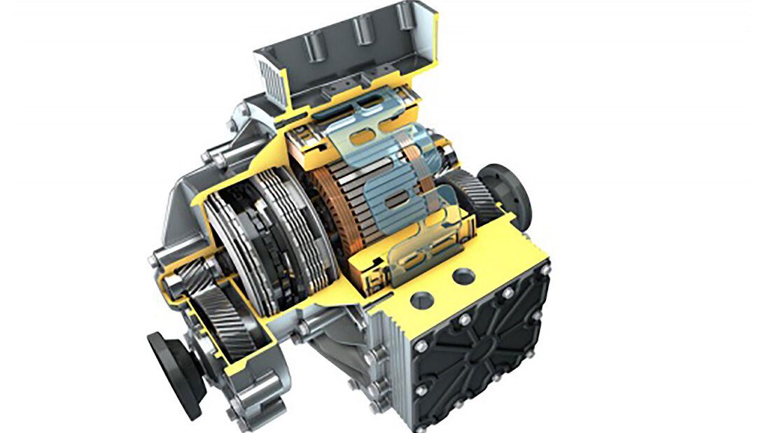 Modulares elektrisches Antriebskonzept IAV