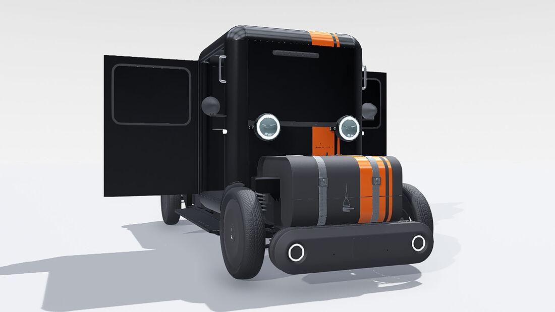 Mole Urbana modulares Elektroauto