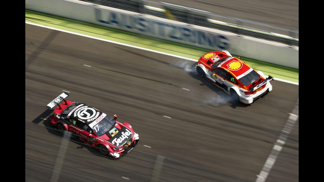 Molina vs. Farfus - DTM Lausitzring 2016