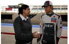 Monisha Kaltenborn - Esteban Gutierrez - Formel 1 - GP England - 29. Juni 2013