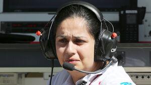 Monisha Kaltenborn - GP Korea 2013