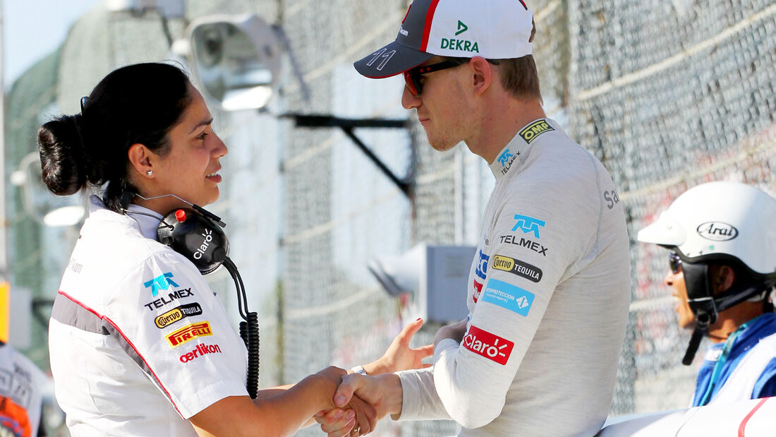 Monisha Kaltenborn & Nico Hülkenberg - GP Japan 2013