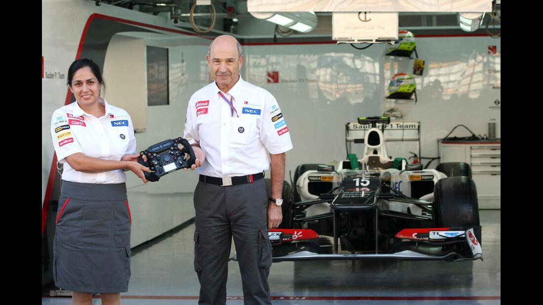 Monisha Kaltenborn & Peter Sauber - Formel 1 - GP Korea - 11. Oktober 2012
