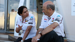 Monisha Kaltenborn & Peter Sauber