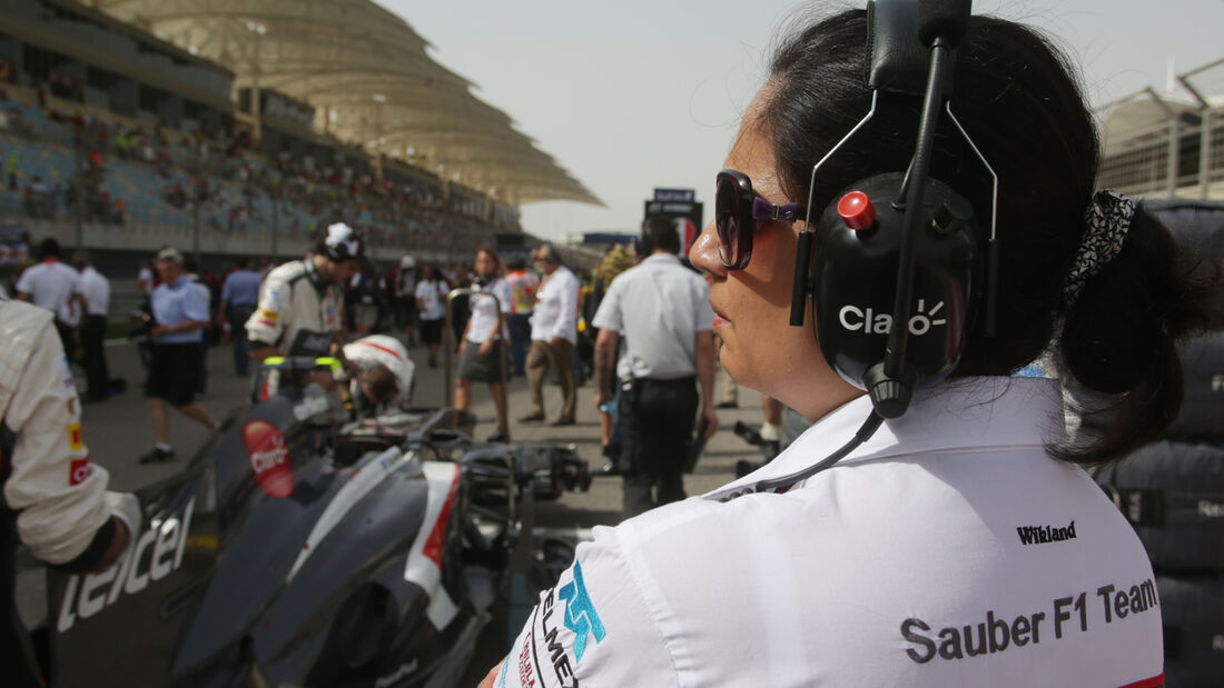 Monisha Kaltenborn Sauber 2013