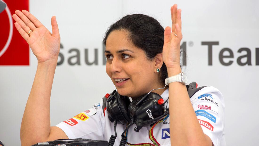 Monisha Kaltenborn - Sauber - 2014