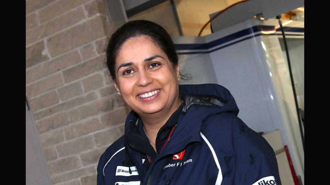 Monisha Kaltenborn - Sauber - 2015