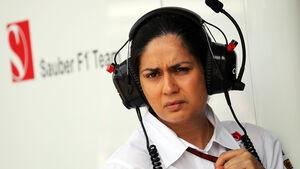 Monisha Kaltenborn - Sauber - Formel 1 2013