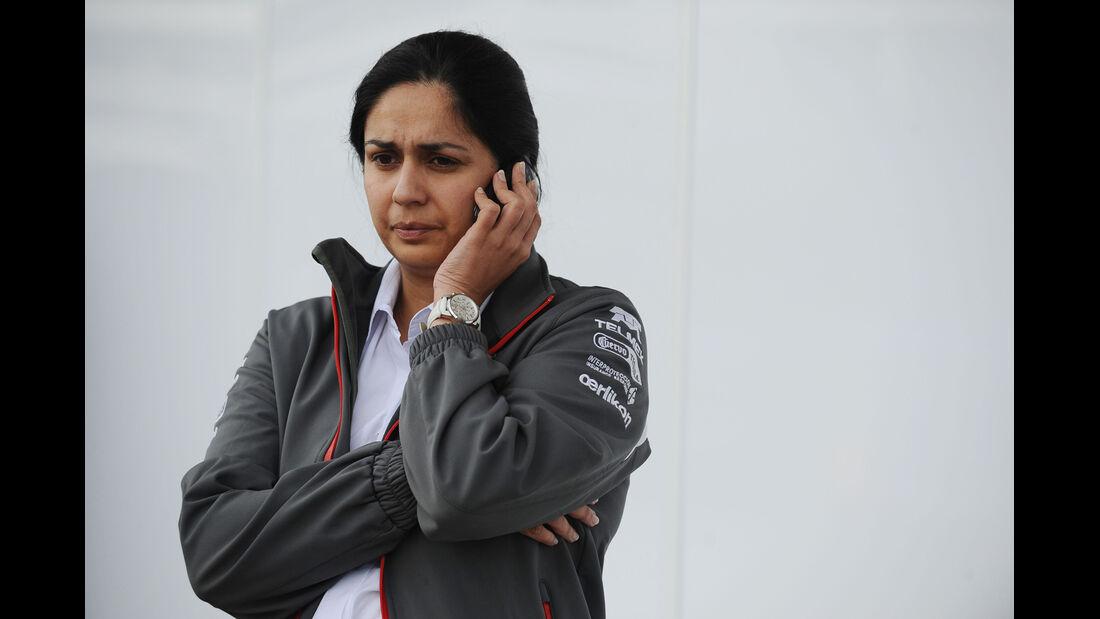 Monisha Kaltenborn - Sauber - Formel 1 - GP USA - 14. November 2013