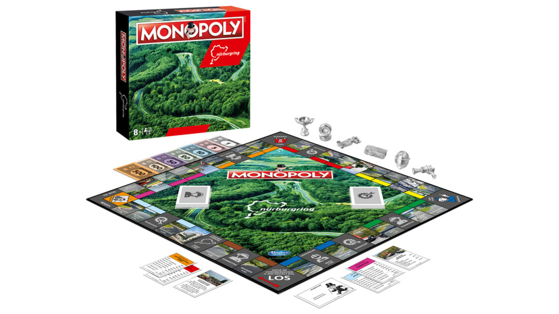 "Monopoly ""Nürburgring"" 2. Edition"
