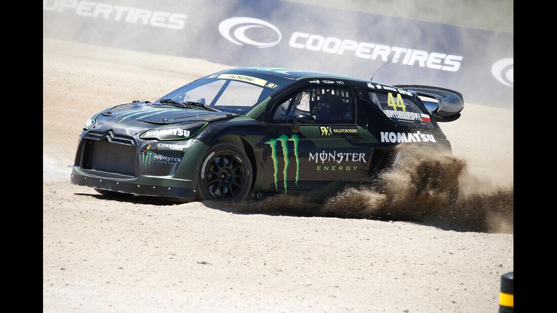 Monster Citroen DS3 RallyeCross - Krzysztof Skorupski - 2014