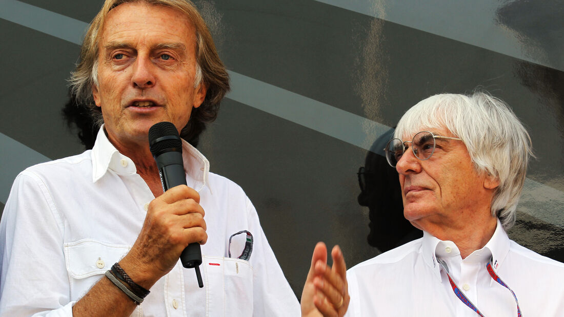 Montezemolo & Ecclestone - GP Italien 2012 Monza