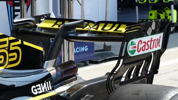 Monza-Heckflügel - Renault - 2018