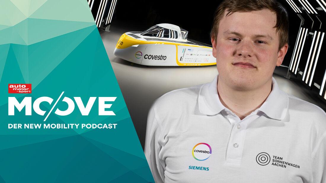 Moove Podcast (61) Simon Quinker Sonnenwagen RWTH Aachen