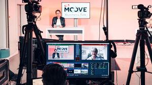 Moove auto motor und sport Business Talk HUK Dekra Daimler