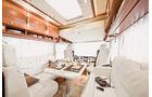 Morelo Palace 90 M, Luxus-Wohnmobil, Innenraum