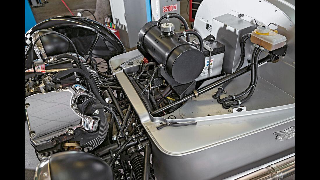 Morgan 3 Wheeler, Motor