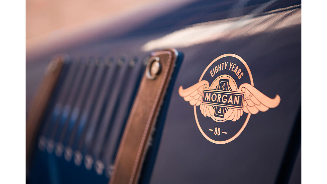 Morgan 4/4 80th Anniversary