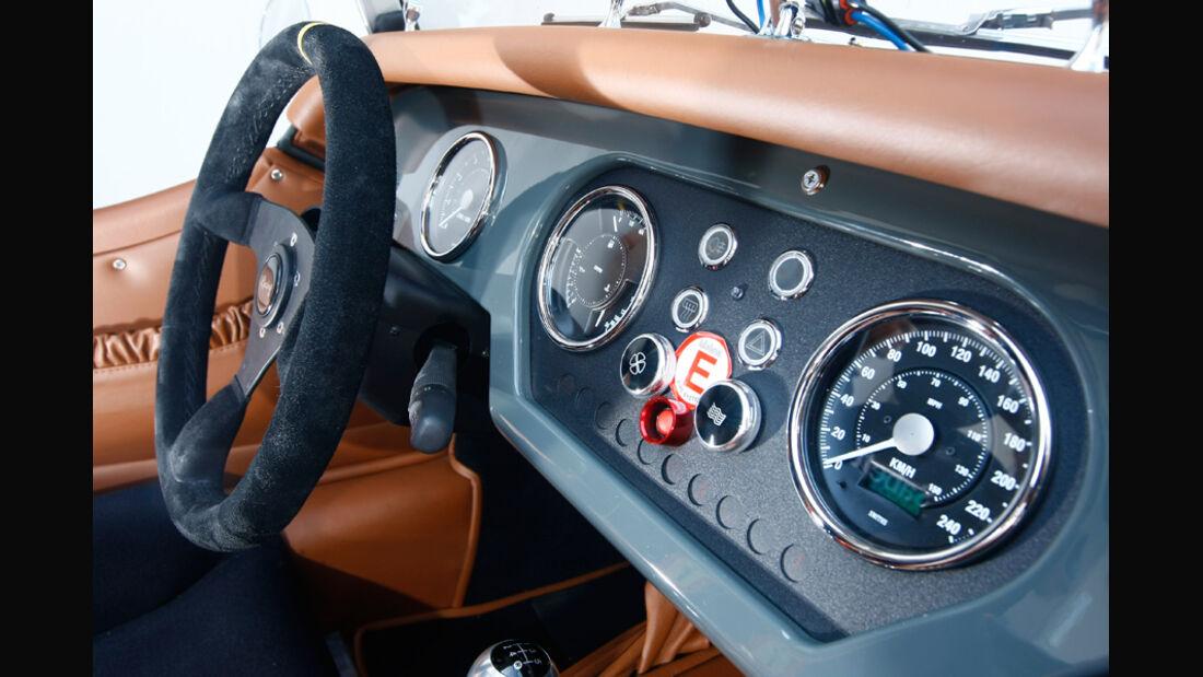 Morgan 4/4 Competition von 2010, Cockpit