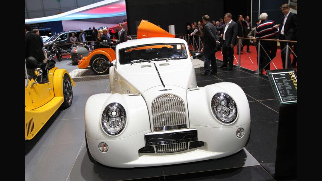 Morgan Aero Coupé, Autosalon Genf 2012, Messe