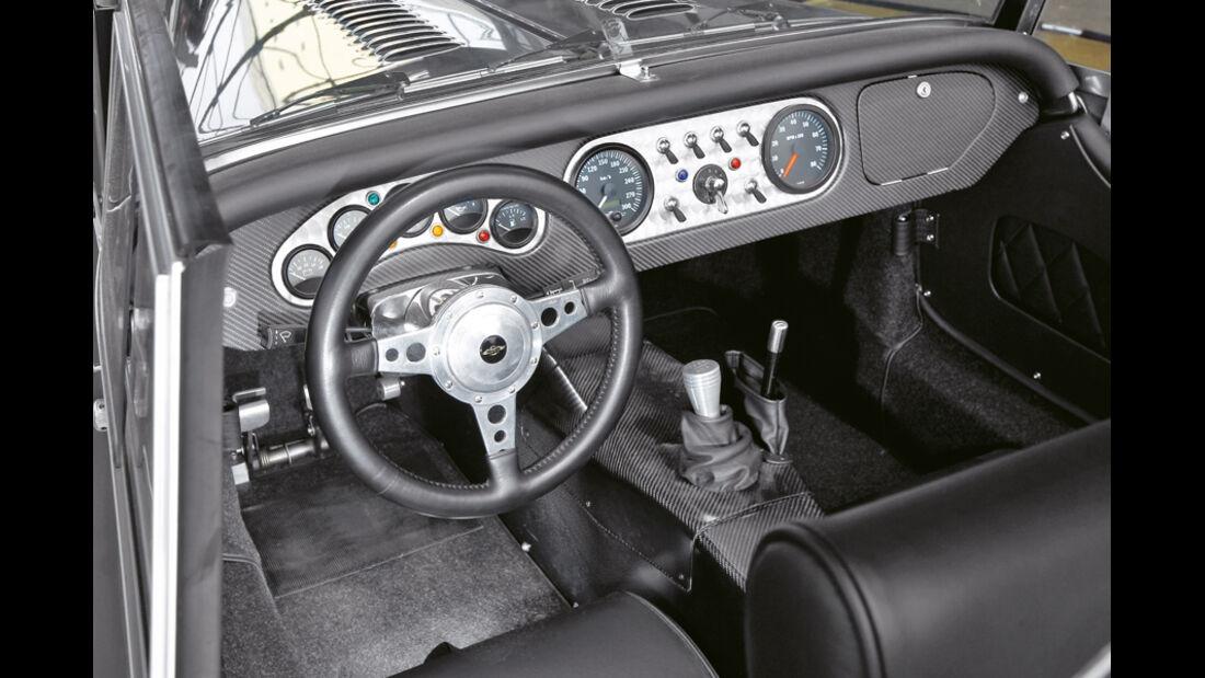Morgan MP8 by Merz & Papst, Cockpit
