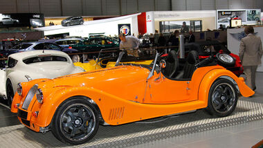 Morgan Plus 8 4.8, Autosalon Genf 2012, Messe