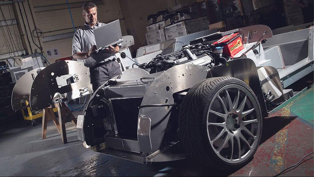 Morgan Plus 8 Aluminium Chassis