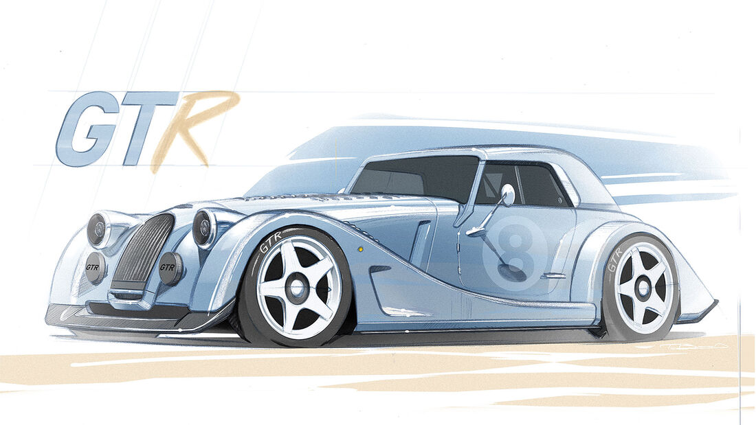 Morgan Plus 8 GTR