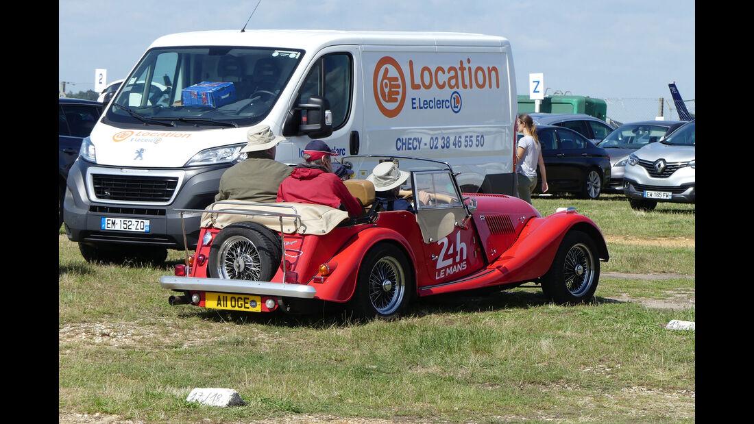 Morgan Roadster - Carspotting - 24h Le Mans 2018