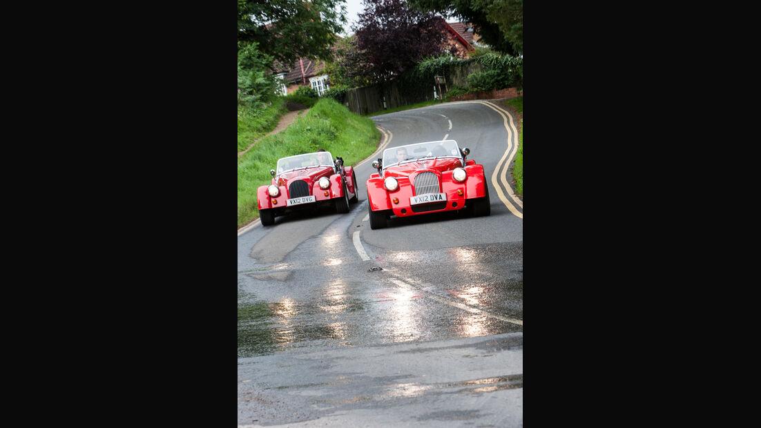 Morgan Roadster V6, Morgan Plus 8, Frontansicht