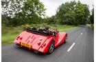 Morgan Roadster V6, Morgan Plus 8, Seitenansicht