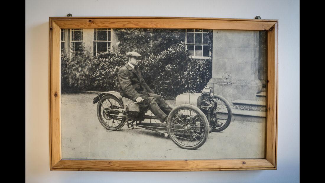 Morgan Threewheeler, Historisches Bild