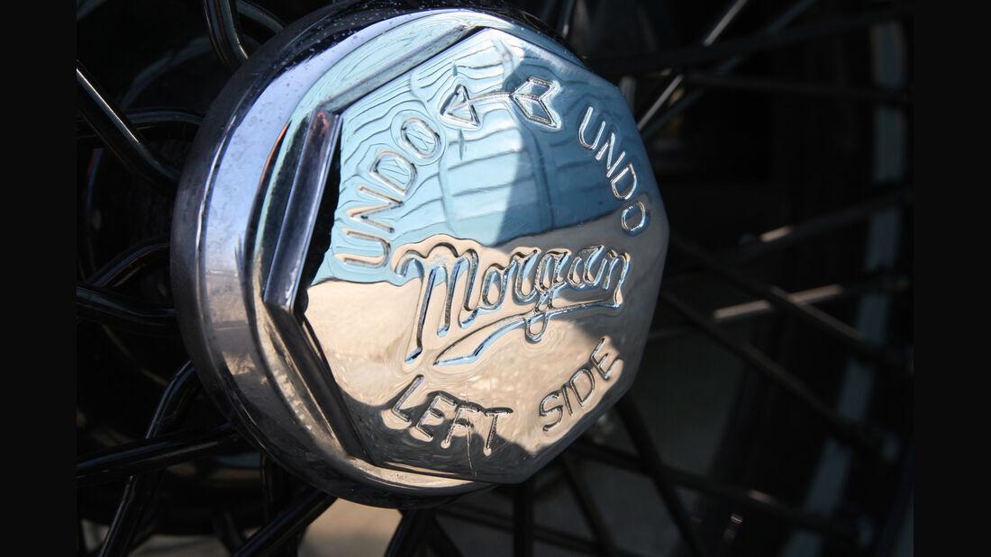 Morgan Threewheeler, Radnabe, Detail