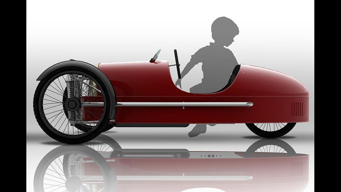 Morgan Threewheeler Tretauto