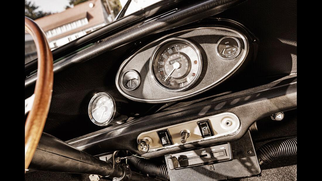 Morris Mini Cooper S, Rundinstrumente